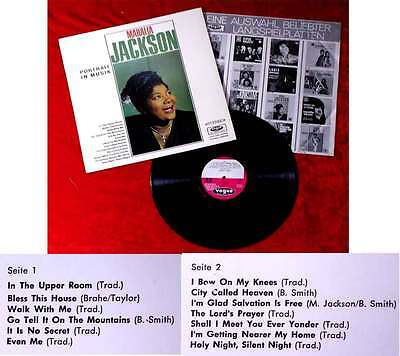 LP Mahalia Jackson: Portrait in Musik (Vogue LDVS 17034) D 1965