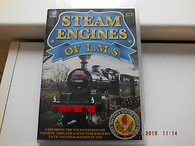 Steam Engines Of The Lms Dvd