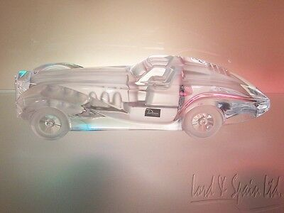 "Daum France Art Glass Riviera Coupe 15 1/4"" Car Sculpture/Figurine"