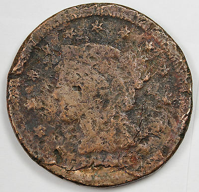 1846 Large Cent.  Circulated.