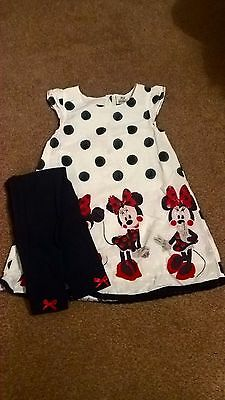 girls minnie mouse outfit age 3-4