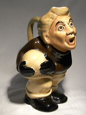 "H J Wood  6.3/4""   Toby Jug Football Player Footballer"