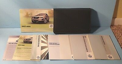 12 2012 Volvo XC60 owners manual with Navigation