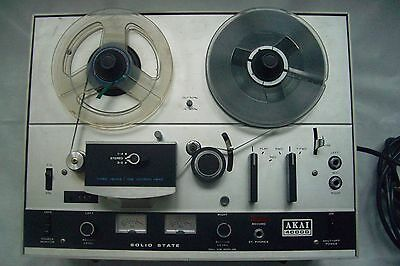 AKAI Three Head Stereo Reel to Reel Tape Deck