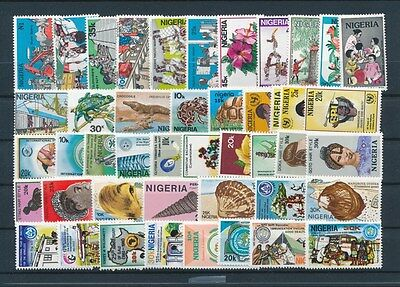 [G73054] Nigeria good lot Very Fine MNH stamps