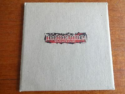 Indochine Rare Cd Promo Savoure Le Rouge Photos