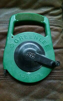 Greenlee #438-2X electrical wire fish tool