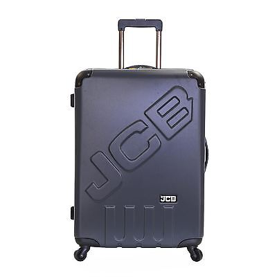 JCB XL Extra Large Spinner Hard Shell Suitcase Luggage Trolley Case Bag