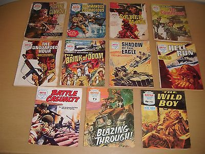 Fleetway Battle Picture Library x 11: 1964 to 1971