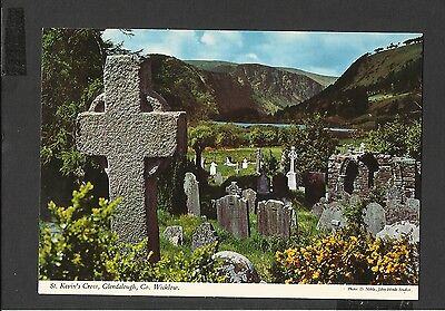 John Hinde Postcard St Kevin's Cross Glendalough Co. Wicklow Ireland Unposted