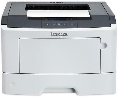 Lexmark Ms312Dn A4 Mono Laser Printer 33ppm Mono Print 6.5 Seconds First page