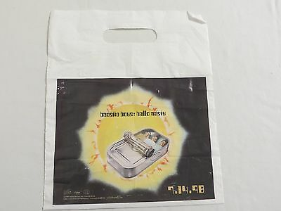 BEASTIE BOYS RARE Hello Nasty PLASTIC BAG Promotional Collector's Item