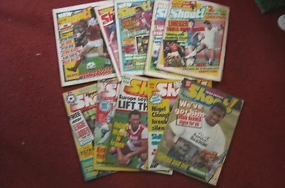 10 Vintage 80's Shoot Magazines