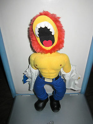 "Simpsons Ragin' Willie By Applause 14"" Plush Toy Doll Figure"