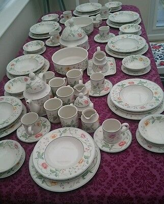 Villeroy & Boch Beautiful Albertina Dinner,tea And Coffee Sevice For 8 People