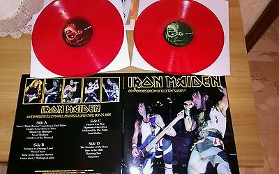 Iron Maiden - Do Androids Dream Of Electric Sheep ?- 2 LP PICTURE RED NEW!!!!