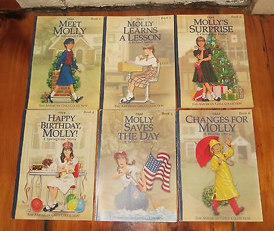 Molly An American Girl 1944 Series Set of 6 Pb Books 1-6 2000