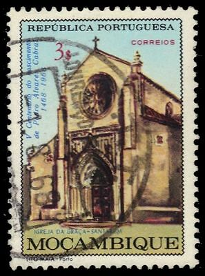 "MOZAMBIQUE 483 (Mi542) - Pedro Cabral ""Grace Church, Santarem"" (pa80221)"