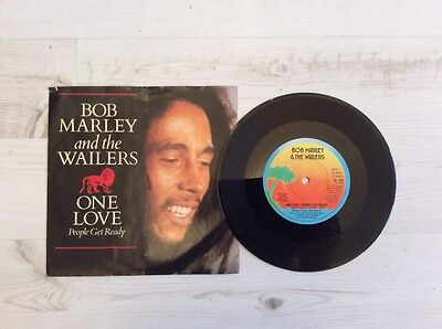 """Bob Marley and the Wailers, One Love, 45rpm,7"""" vinyl single,1979, island records"""