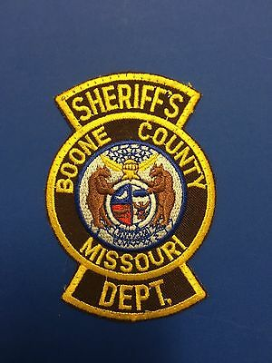 Boone County Missouri Sheriff  Shoulder  Patch