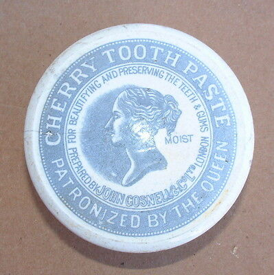 Pictorial John Gosnell Tooth Paste Pot Lid