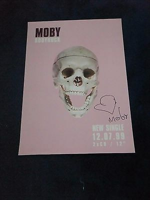 Moby Signed Poster  2