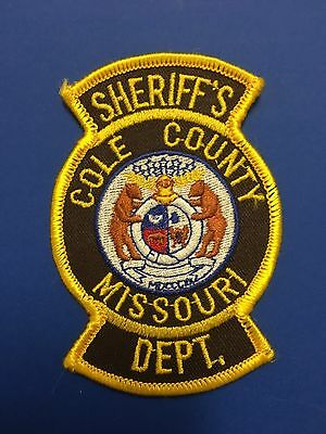 Cole County Missouri Sheriff  Shoulder  Patch