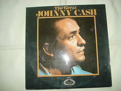 Johnny Cash The Great Johnny Cash Lp Chm696