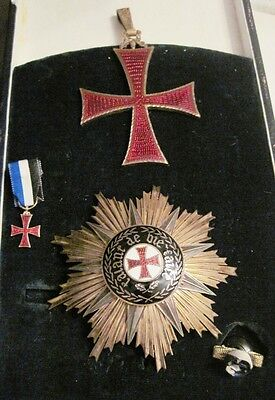 Portugal, Portuguese The Order of Prince Henry the Navigator GRAND CROSS+ CERTIF