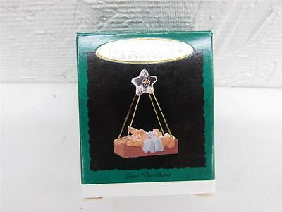 1994 Hallmark Love Was Born Miniature Christmas Ornament IOB T13