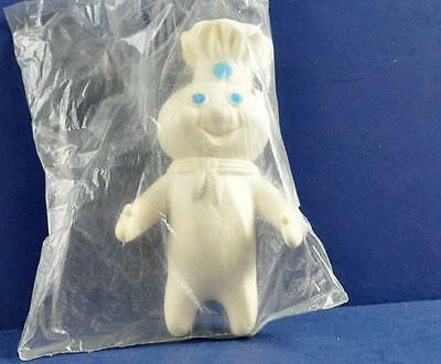 Vintage 1971 Pillsbury Dough Boy Squeezable Figure W/ Jointed Head Sealed Nip