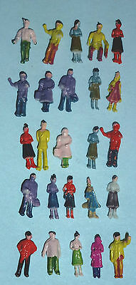 25 N Gauge People Standing for your Train Layout: 12mmTall:NEW:Post Free UK: