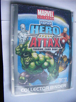 Topps Marvel Universe Hero Attax Trading Card Collector Binder (empty) super