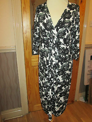 next black white grey maternity dress size 12 eur 40 brand new with tags