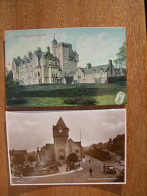 Galashiels (4 Cards) Gala House,war Memorial, Bank St.gala From Ladhope Golf Cou