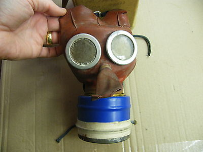 Childrens Mickey Mouse Gas Mask..with box..