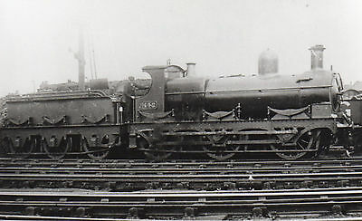 Photo GWR 0-6-0 No 142 seen at unknown shed yard