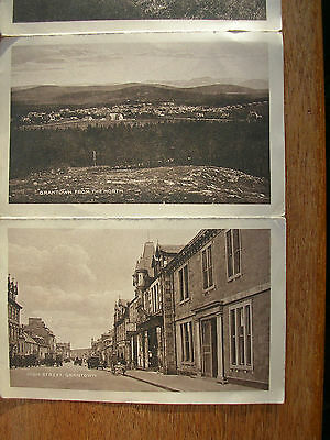Grantown On Spey (4 Cards + Pictorial Letter Card) Square, Overview, Pityoulish