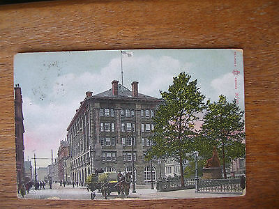Dundee,(3 Cards) Courier Place, The Docks The Law, P/m 1905 07/ 10,