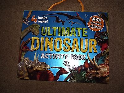 Brand New Ultimate Dinosaur Activity Pack Contains 4 Books