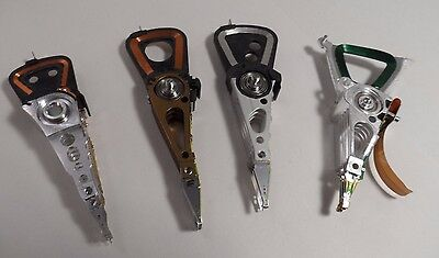Lot: 4 Hard Drive Actuator Arms/Styluses Altered Art Pendants Cyberpunk Variety