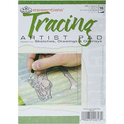 Essentials Tracing Paper Pad 5 Inch X 7 Inch-24 Sheets 090672228130