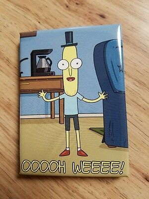 Rick And Morty TV Cartoon Mr Poopy butthole OOOOH WEEEE! Magnet