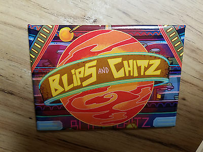 Rick And Morty TV Cartoon Blips And Chitz Magnet