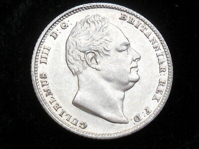 King William IIII / IV silver sixpence dated 1834 very very high grade EF