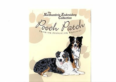 Australian Shepherds EMBROIDERED  Pooch Patch