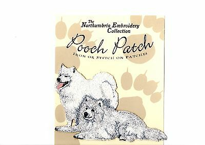 Samoyeds  EMBROIDERED  Pooch Patch