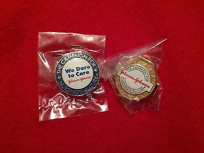 Johnson & Johnson Campaign For Nursing's Future We Dare Nurse Lapel Pins