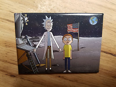Rick And Morty TV Cartoon Confused In Space Magnet
