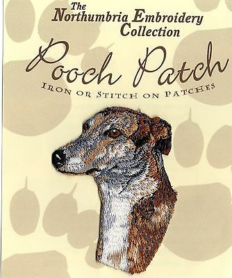 Greyhound   EMBROIDERED Pooch Patch